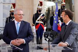 Australia PM says no opportunity for meeting with French president in New York