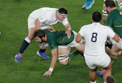 Rugby-De Jager back as Boks bolster bench with backline experience
