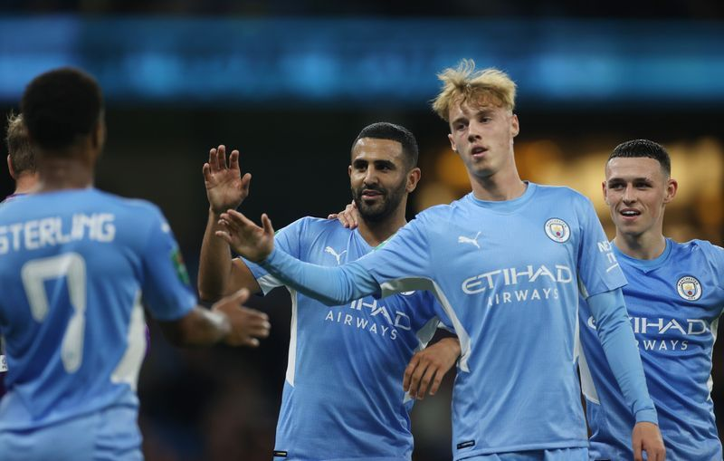 Soccer-Man City and Liverpool through but Everton out of League Cup - The Star Online