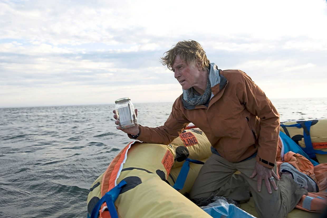 Redford suffered an ear infection during the filming of 'All Is Lost'. Photo: Handout