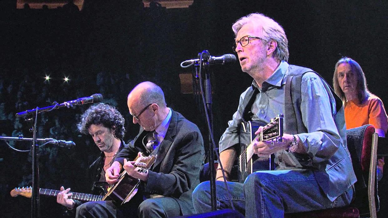 Clapton suffers from tinnitus, a ringing or buzzing noise in his ears that can interfere with hearing sounds. Photo: Handout