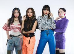 Malaysian girl group Dolla featured on Times Square billboard in New York