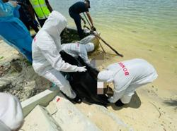 Elderly woman found dead on Johor beach