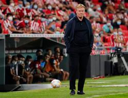 Soccer-Barca coach Koeman calls for patience in unusual news conference