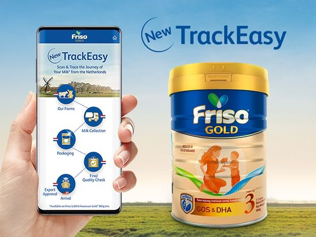 The TrackEasy system allows parents to track the origin of their milk.
