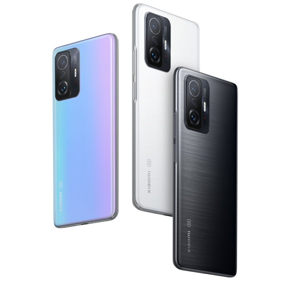 The Xiaomi 11T Series comes in meteorite gray, moonlight white and celestial blue.