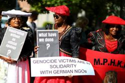 Namibian opposition criticises genocide compensation deal with Germany