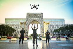 Police drones deployed to monitor SOP compliance