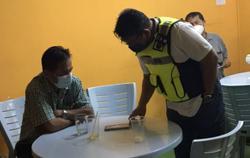 Cheras police nab six men at online gambling den
