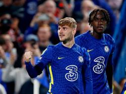 Soccer-Chelsea's Werner pleased to get off the mark