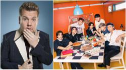 Talk show host James Corden angers BTS fans by calling them '15-year-old girls'