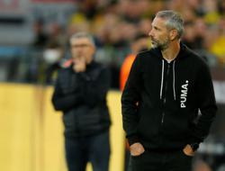 Soccer-No flowers for Dortmund coach Rose on return to Gladbach