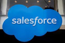 Salesforce raises full-year revenue outlook on hybrid work boost