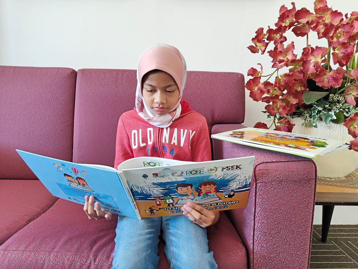 The Putrajaya Children Eco Stories series is among PPj's initial efforts to share its low-carbon city aspirations with the city's younger generation.