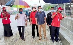 Drain upgrade in Taman Slim Makmur to prevent flash floods