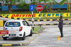 Improving integrity of driving tests