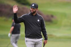 Golf-Rahm bids to sign off eventful year with Ryder Cup glory