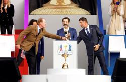 Golf-Rahm and Garcia to spearhead Europe Ryder Cup defence