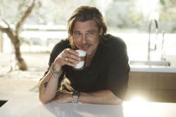 A perfect De'Longhi moment with Brad Pitt