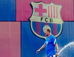 Soccer-Barca's Koeman has no issue with players' commitment