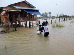 Troubles for Laos: Tropical depression to bring more heavy rain as another 434 Covid-19 cases are reported in country