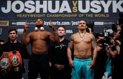 Boxing - Usyk at heaviest weight ahead of Joshua clash