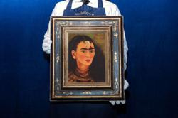 This self-portrait of Frida Kahlo from 1949 could fetch US$30mil