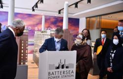 King, Queen visit Battersea Power Station