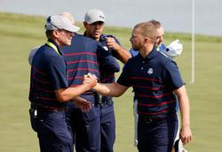 Golf - Europe and U.S. shake up pairings for Ryder Cup fourball