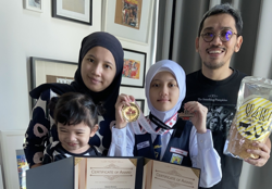 11YO Malaysian student inventor praised by US talk show host James Corden