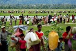 US budgets US$180 million humanitarian aid for Rohingya refugees from Myanmar