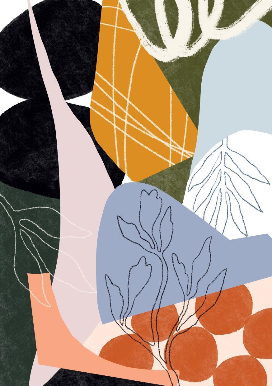 A close-up detail of Shan Shan Lim's 'I Am Jungle Print 1'. Photo: Shan Shan Lim