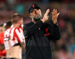 Soccer-Klopp praises Brentford after thrilling 3-3 draw with Liverpool