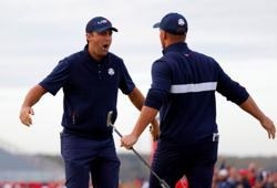 Golf-U.S. players getting Ryder Cup celebrations started early