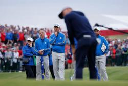 Golf-'Miracle at Medinah' will be on Europe's minds, says captain Harrington
