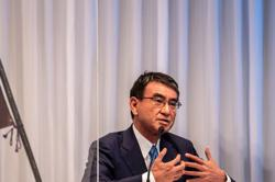 Japan's Kono says same-sex marriage should be discussed in parliament