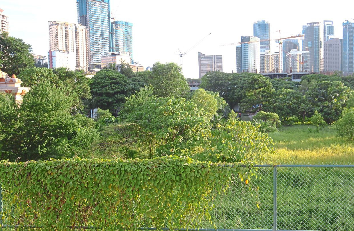 Residents want DBKL to clear away the undergrowth at the open space near the former DBKL sports club land for children to play football there.