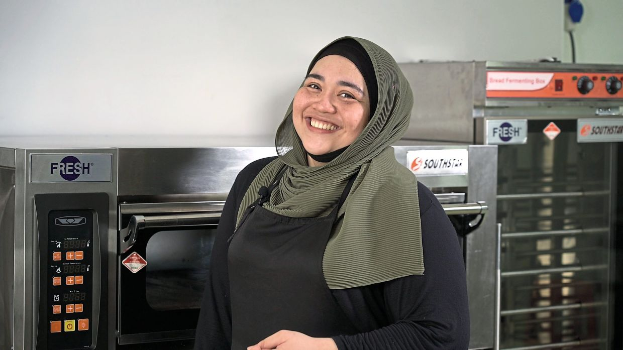 Nur Ain Saila began her baking business by sheer coincidence when she inherited a hand mixer at a time when there was bread shortage.