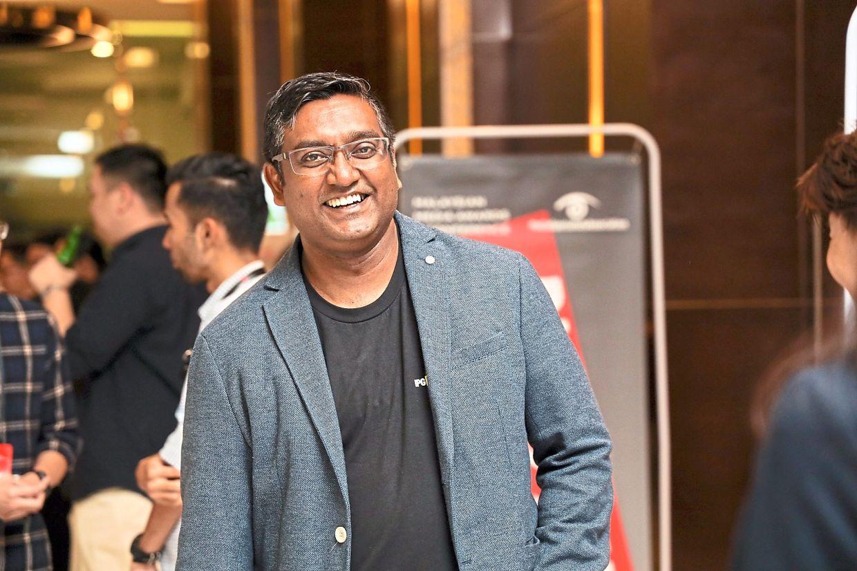 Mediabrands Malaysia CEO Bala Pomaleh