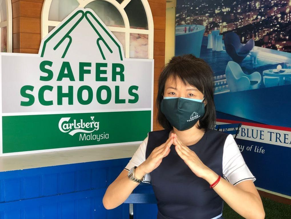 Lai said prolonged school closures have impacted schoolchildren's learning, health and well-being and Safer Schools campaign provides a timely contribution for pandemic safety measures.