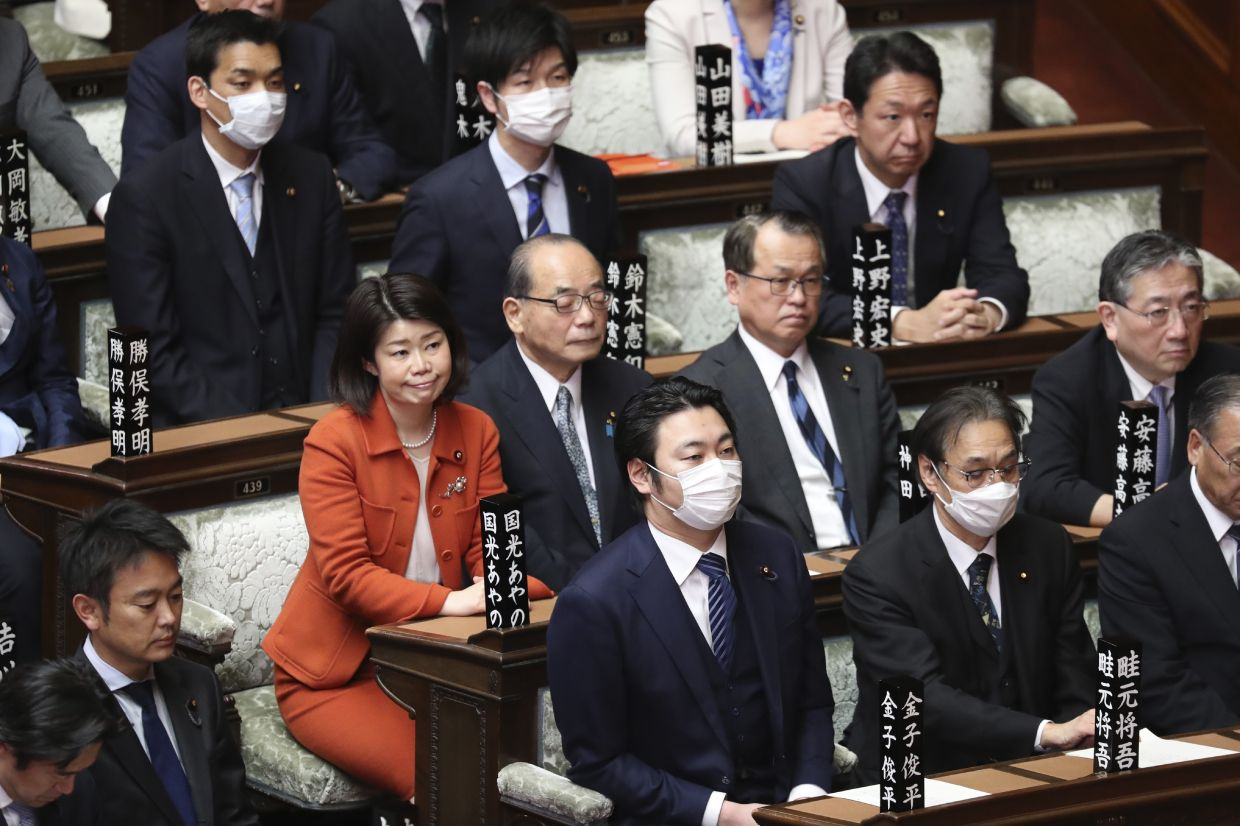 The inclusion of two women among the four candidates vying to become the next prime minister seems like a big step forward for Japan's notoriously sexist politics. Filepic, AP.