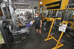 Gyms reopening with tight safety measures