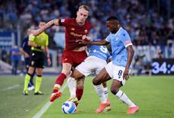 Soccer-Pedro comes back to haunt Roma as Lazio win derby thriller