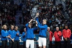 Tennis-Team Europe win fourth consecutive Laver Cup