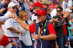 Golf-United States beat Europe to reclaim Ryder Cup
