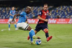 Soccer-Osimhen's Napoli cruise past Cagliari to continue perfect start