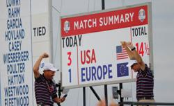 Golf-U.S. Ryder Cup rookies launch 'new era' with dominant debuts