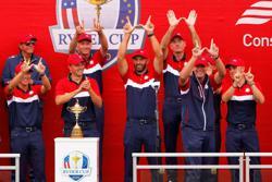 Golf-Ryder Cup win brings a truce, and a hug, to Koepka-DeChambeau feud