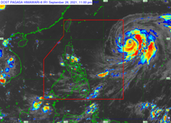 Typhoon Lannie likely to intensify over Philippines