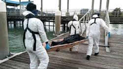 Body of unidentified man found in Teluk Kumbar waters
